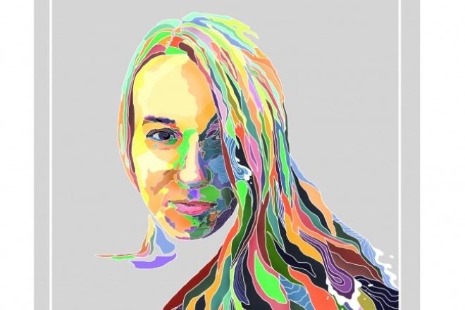 Нарисую портретИллюстрации и рисунки<br>Нарисую портрет в Adobe Photoshop, учту все пожелания, готовая работа подходит для печати большого размера. Идеально подходит для подарка)<br>