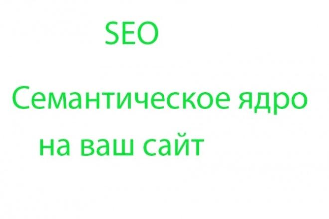 Соберу семантическое ядроСемантическое ядро<br>Соберу семантическое ядро для вашего сайте. Могу собрать высокочастотные запросы для вашего сайта по яндекс + гугл, либо по одной из поисковых систем.<br>