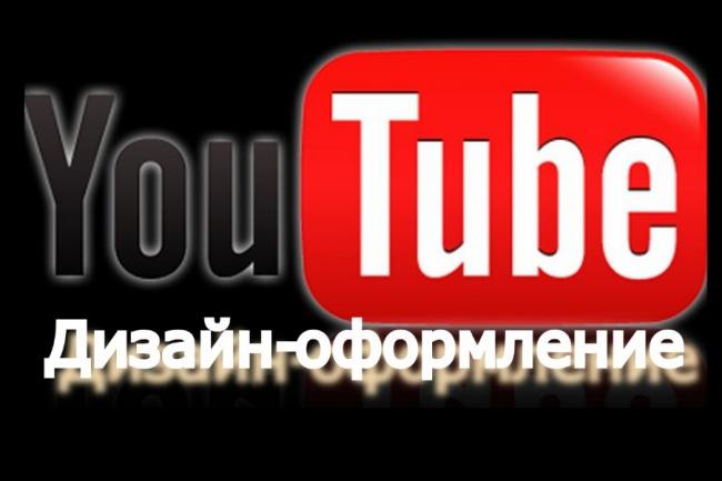 Оформлю ваш канал на YouTube 1 - kwork.ru