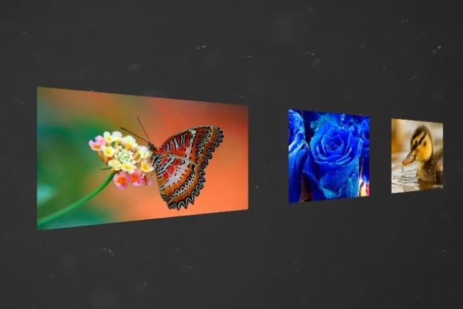 Сделаю слайд-шоуСлайд-шоу<br>Сделаю слайд-шоу из Ваших фотографий. Можно предоставить примеры работ. К работе подойду со всей душой.<br>