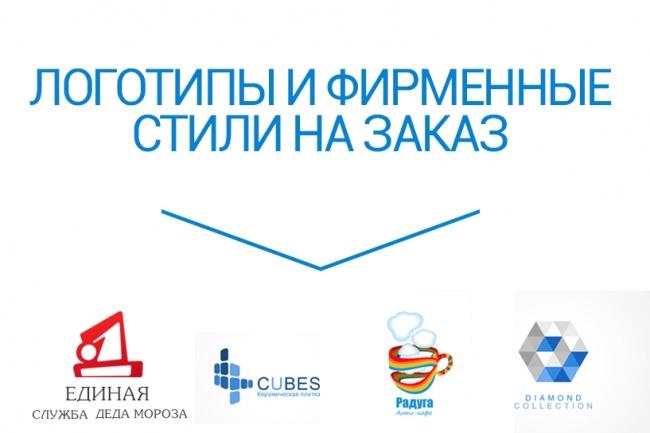 Разработаю логотип для вашего бренда 1 - kwork.ru