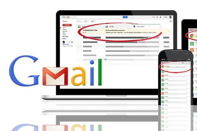 Реклама в почте Gmail через Google Adwords 1 - kwork.ru