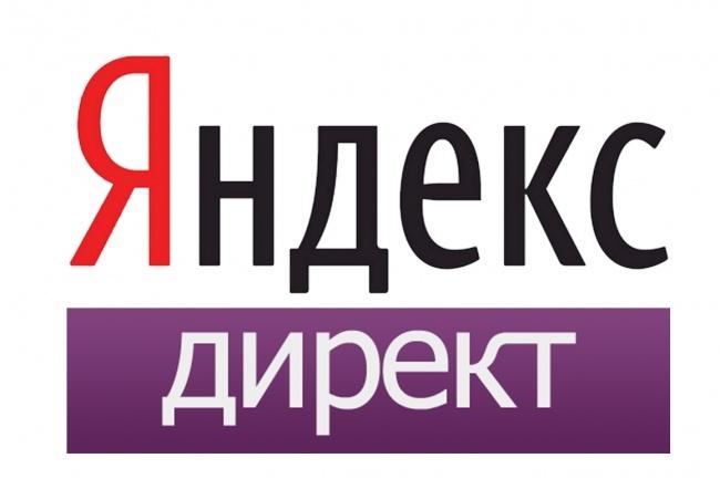 Настройка ЯндексДирект 1 - kwork.ru