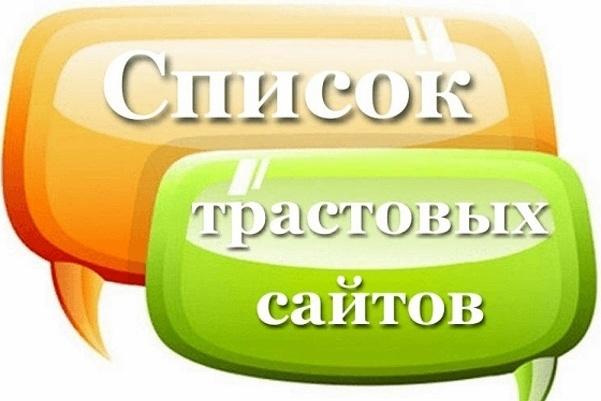 50 трастовых сайтов - ТИЦ от 1000 1 - kwork.ru