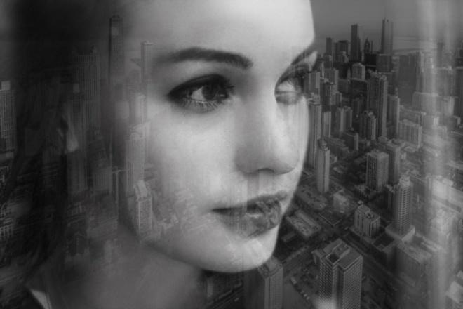 Сделаю фотоколлажФотомонтаж и обработка<br>Создам фотоколлаж в стиле экрана: -интересное изображение из 2-3 фотографий в технике полупрозрачного наложения; -впечатление воспоминания; -цветокоррекция и легкая ретушь исходных фотографий для последующего создания коллажа.<br>