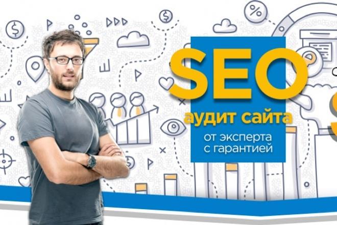 Профессиональный SEO аудит сайта 1 - kwork.ru