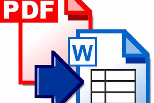 Переведу PDF в WordРедактирование и корректура<br>Переведу ваш PDF документ в Word с полным оформлением и стилями! В прикрепленных файлах можете посмотреть пример такой работы, первый документ это сам PDF, а второй это полностью переведенный в .doc. Обращайтесь!<br>