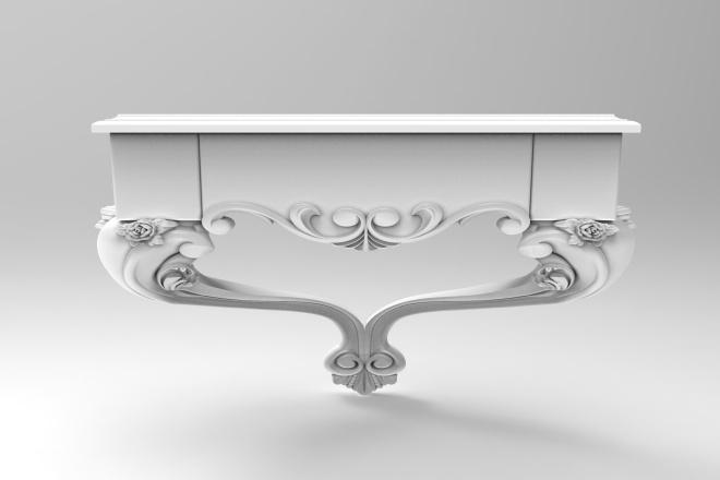 Проектирование нестандартной мебели 1 - kwork.ru
