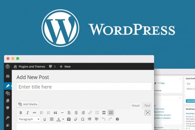 установлю блог на wordpress 1 - kwork.ru