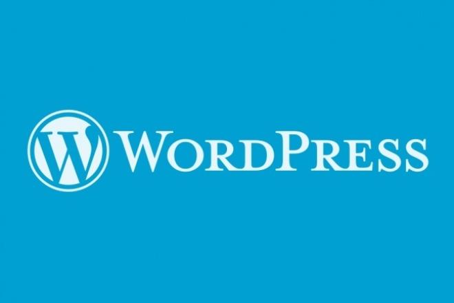 Установлю собственную сборку WordPress 1 - kwork.ru