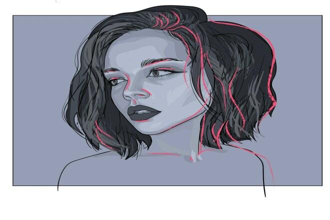 Цифровой портрет, аватарка 1 - kwork.ru