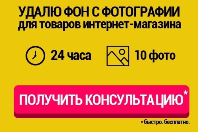 Удалю фон с 10 фото для вашего интернет-магазина 1 - kwork.ru