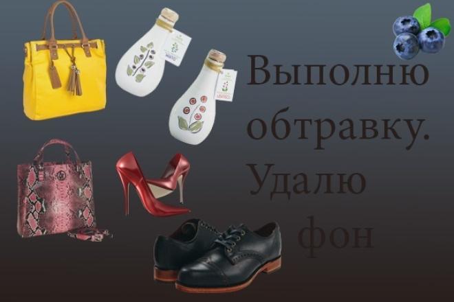 выполню обтравку, удаление фона 1 - kwork.ru
