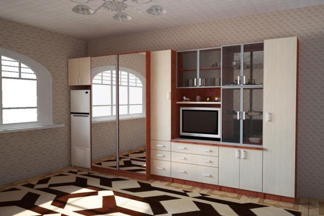 Проектирование и дизайн мебелиМебель и дизайн интерьера<br>Проектировка мебели и квартир по вашим эскизам или чертежам в кратчайшие сроки. Работаю в программах bCad, Cinema 4D + Vray, Photoshop.<br>