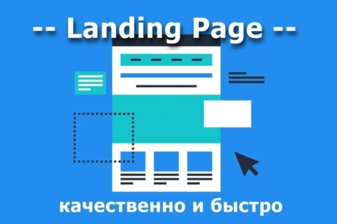 Создание одностраничников (Landing Page) 1 - kwork.ru
