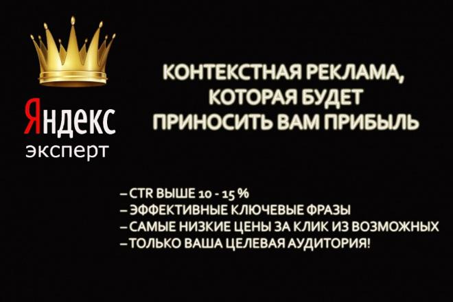Профессиональная реклама в Я.Директ с CTR от 10.Поиск,РСЯ, РетаргетингКонтекстная реклама<br>Я специалист по контекстной рекламе более 2 лет (&amp;lt;200 компаний с бюджетами до 1 млн. руб/мес). Работала 1 год в Яндексе , в клиентском сервисе Я.Директа – знаю изнутри все секреты работы Директа и Метрики, поэтому работаю ОЧЕНЬ, ОЧЕНЬ тщательно. Эксперт по Я.Директу и Я. Метрике. Выбираю индивидуальные методы, максимально успешные для решения задач клиента. Провожу создание и настройку компаний в Я.Директе: — Сбор семантического ядра — Создание структуры аккаунта (разделение на компании, группы объявлений) — Добавление минус-слов, кросс-минусация. — Создание от 3 до 10 (!) уникальных текстов на каждую группу (и каждую фразу в группе) объявлений для А/B-тестирования (чтобы выявить самый продающий текст). — UTM метки. — Быстрые ссылки, визитки, уточнения. — Настройка счетчика Метрики, целей и сегментов для использования их в Директе. — Настройка всех видов таргетинга,ретаргетинга. — Настройка аналогичной компании для РСЯ – в подарок! (с 3 форматами изображения/объявлений на каждую фразу) После настройки в течение 5 дней ежедневно отслеживаю корректную работу компаний. Внимание! Все вопросы, возникающие у модерации систем должны решаться самостоятельно (я со своей стороны даю рекомендации).<br>