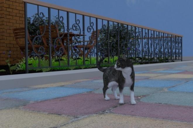 Визуализация и моделированиеФлеш и 3D-графика<br>Визуализация и моделирование сцен в blender, расстановка объектов, настройка материалов, текстурирование.<br>