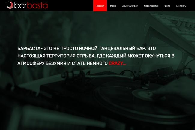 Сайт под ключ 1 - kwork.ru
