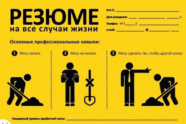 Подберу актуальные резюме на вашу вакансию 1 - kwork.ru