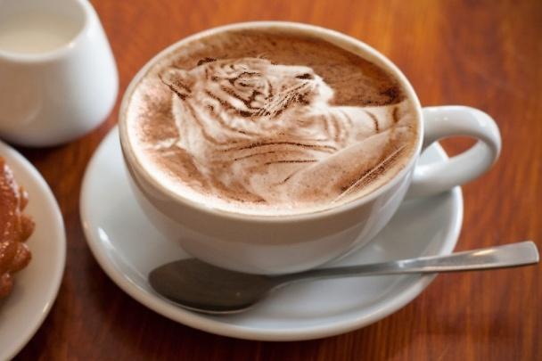 Я размещу ваше фото или логотип на пенке кофе 1 - kwork.ru