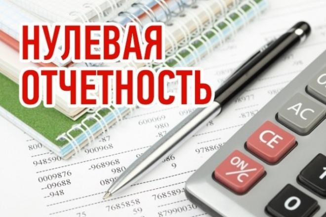 Подготовка нулевой отчетности для ООО и ИП 1 - kwork.ru