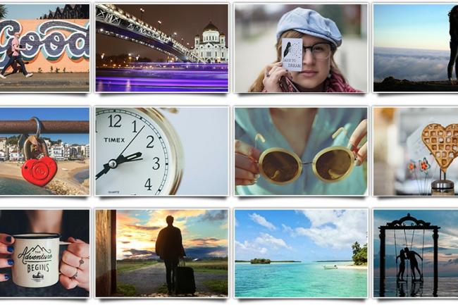 15.000 высококачественных фотографийГотовые шаблоны и картинки<br>15.000 фото отличного качества и отличная подборка, каждый найдет то, что ему нужно! Различная тематика, высокое разрешение, без копирайтинга, коммерческая лицензия на использование в своих проектах, товарах, блогах, сайтах, соцсетях и тд, а также в проектах клиентов.<br>