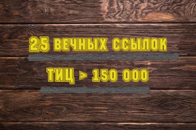 25 самых жирных ссылок с трастовых сайтов. Общий ТИЦ 150 000+ 1 - kwork.ru