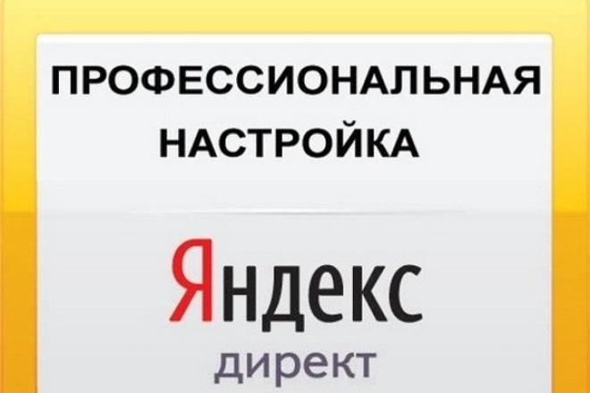 Профессиональная настройка Яндекс.Директ. Поиск, РСЯ 1 - kwork.ru