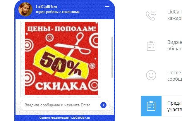 Cамостоятельный чат, не нуждающийся в поддержке человека 1 - kwork.ru