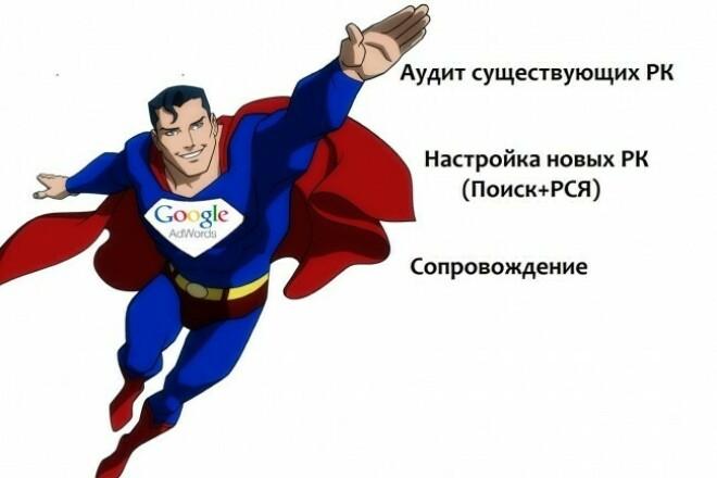 Настройка поисковой РК в Google Adwords 1 - kwork.ru