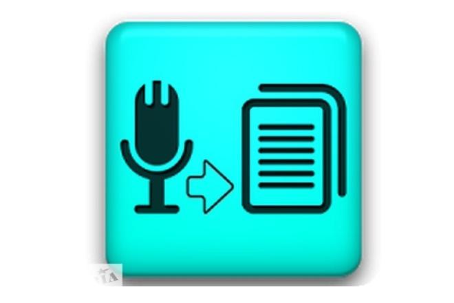 Переведу аудио в текстовый формат 1 - kwork.ru