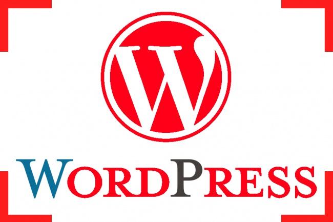 настройка WordPress и других CMS систем 1 - kwork.ru