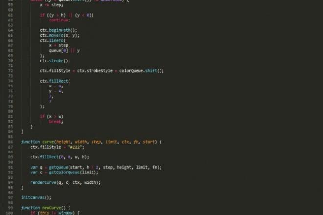 напишу скрипт на JS 1 - kwork.ru