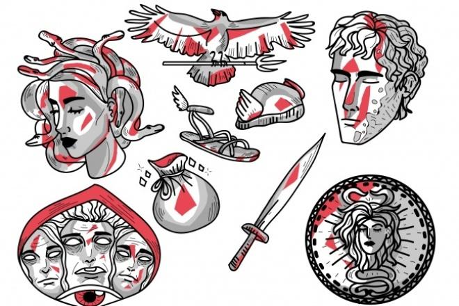 Нарисую стикерыГрафический дизайн<br>Здравствуйте, я рисую стикеры, они могут быть как для телеграма, так и для печати. Рисую в любой сложности и в разных стилях.<br>