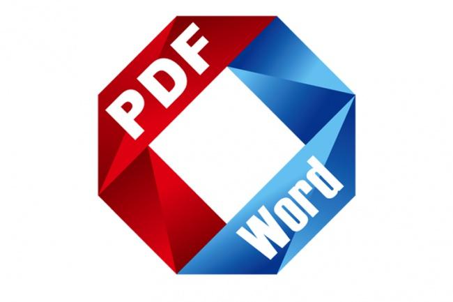 Конвертирую документ из doc (docx) в pdf и обратно с пдф в вордРедактирование и корректура<br>Конвертирую Ваш документ из doc (docx) в pdf и обратно с pdf в doc (docx) В минимальный срок - 1 день. Цена указана за 1 файл doc (docx) или pdf Предупреждение - сильно большие файлы будут дольше конвертироваться<br>