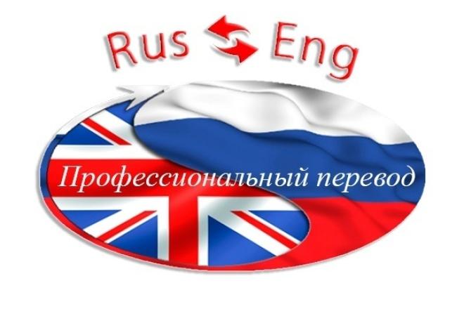 Профессиональный перевод 1 - kwork.ru