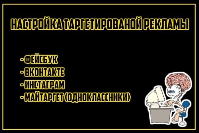 настрою таргетированую рекламу 1 - kwork.ru
