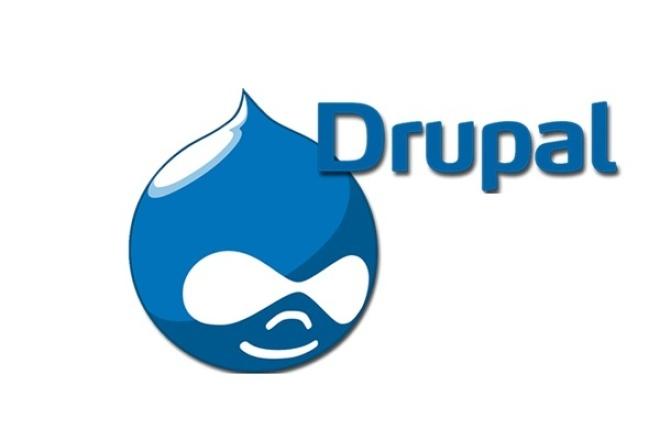Выполню любые задачи с сайтом на drupal  CMS 1 - kwork.ru