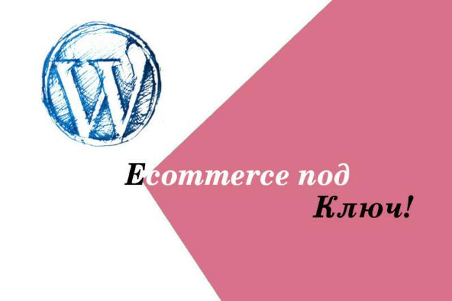 Небольшой интернет-магазин под ключ. Покупка трафика и SEO 1 - kwork.ru