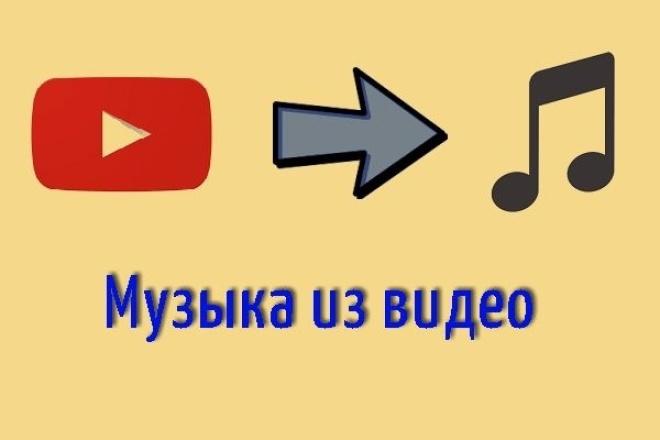 Найду любую музыку из видео 1 - kwork.ru