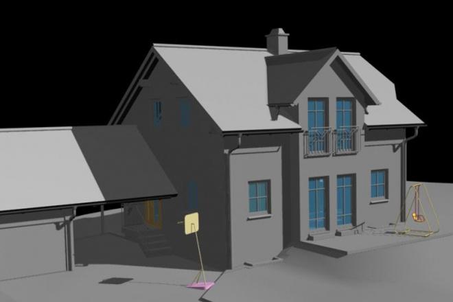 Сделаю 3D модель c текстурированием и визуализацией 1 - kwork.ru