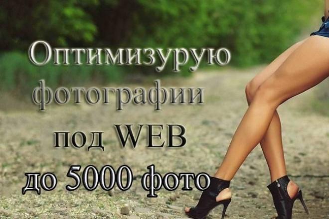 Оптимизация фотографий под WEB 1 - kwork.ru