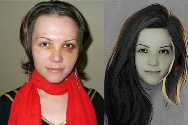 Художественная обработка портретов 1 - kwork.ru