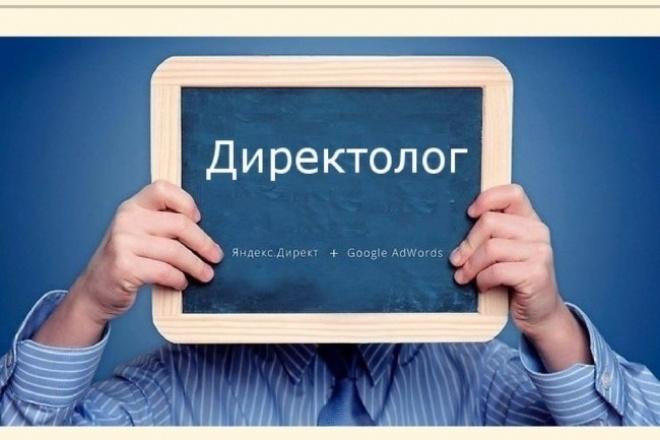 Рекламная кампания РСЯ Яндекс Директ 1 - kwork.ru