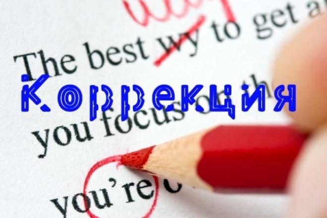 Оперативно отредактирую ваш текст 1 - kwork.ru