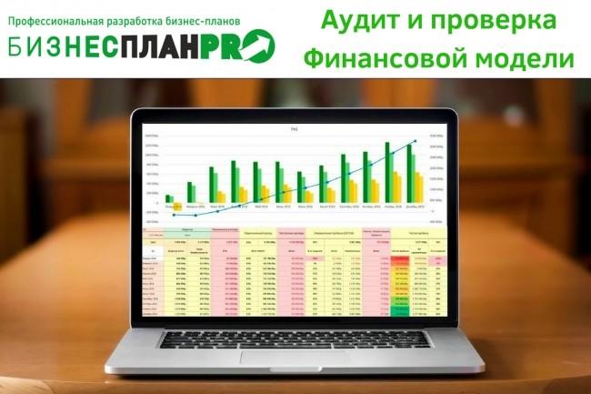 Аудит и проверка финансовой модели бизнес-плана Экспертом 1 - kwork.ru