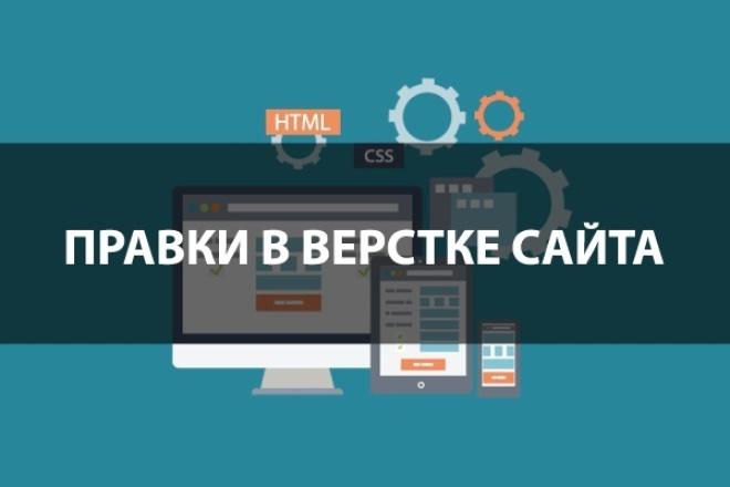 Исправлю проблемы с версткой 1 - kwork.ru