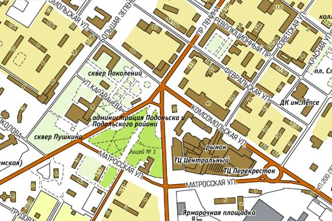 Создам карту, схему проезда 1 - kwork.ru