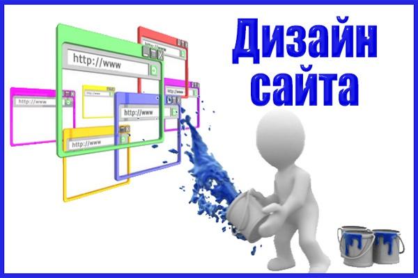 Сделаю дизайн сайта, лендинга 1 - kwork.ru