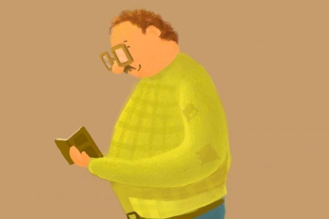 Нарисую илюстрацию 1 - kwork.ru